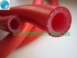 Силиконовая армированая трубка Рукав силиконовый 8х15 мм