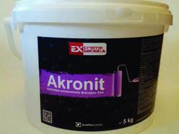 Силиконовая фасадная краска Gbc Akronit -25 кг ( Болгария)