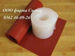 Силиконовая резина термостойкая (листовая) на складе в Ровно