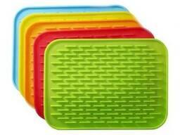 Силиконовый коврик для сушки посуды (21*15 см.)