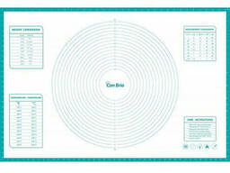 Силиконовый коврик с разметкой Con Brio 61 х 91 см