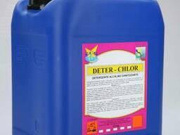 Сильнощелочное хлорное средство Deter -Chlor (Детер Хлор)