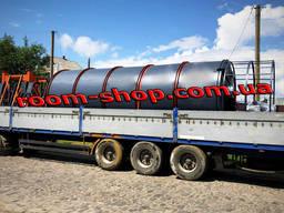 Силос емкость для сыпучих, хранения, зерна, цемента, бункер накопитель, силоса
