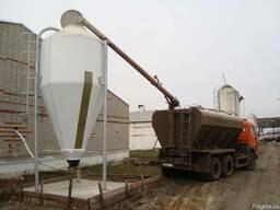 Силосные бункера для комбикорма, пелет, зерна, сыпучих матер