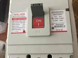 Силовой автоматический выключатель Solard SNM1-630S/3300