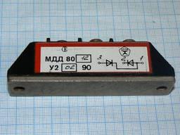 Диоды: Силовой диодный модуль МДД-80-12. Мощные диоды МДД80-12