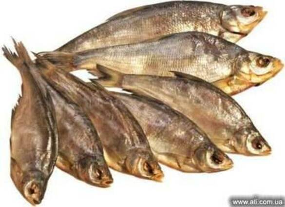 Рыба вяленая Плотва