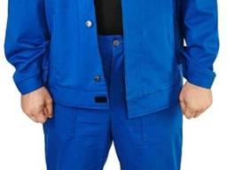 Спецодежда рабочая, костюм саржевый 100% хлопок, куртка, брю