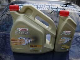 Синтетическое моторное масло Castrol EDGE FST 5w-40, 4л (EU)