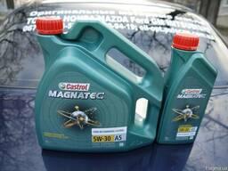 Синтетическое моторное масло Castrol Magnatec 5w-30 A5, 4л
