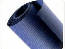 Синяя крафт бумага в рулоне (двусторонняя, 70 г/м2)