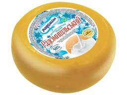 Сырный продукт круг брус / Сирний продукт Радомишльський