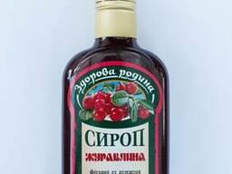 Сироп Клюква