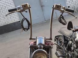 Sissy bar или пассажирская спинка, руль для custom, багажные
