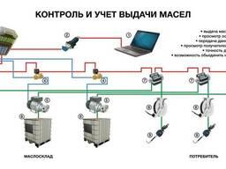 Система автоматического учета, раздачи и хранения жидкостей