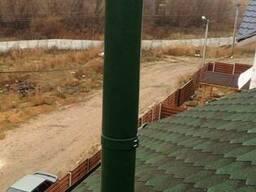 Система дымоудаления котла в доме из сип панелей