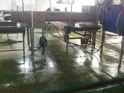 Система конвейєрів для подачі овочів на систему фасування