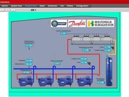 Система мониторинга холодильной установки