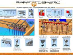 Система токоподвода для грузоподъемного оборудования