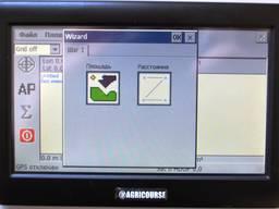 Система замера поля Agricourse mf control
