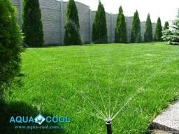 Системы автоматического полива, автополив, рулонный газон