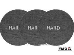Сітка абразивна тверда на липучці до шліфмашини YATO G80 225 мм 3 шт