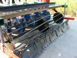 Сівалка сеялка до мінітрактора 1,2 м дисковий сошник - фото 4