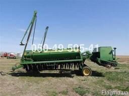 Сівалка зернова John Deere 455 10, 7 м. , 15 см. , сухі