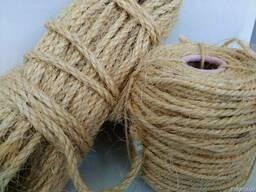 Сизалевая верёвка для кошек. 6 мм -25 м