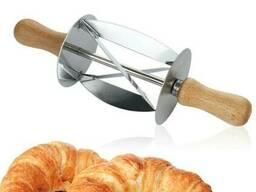 Скалка - нож для круассанов нержавеющая сталь
