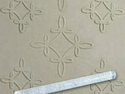 Скалка текстурная прозрачная акрил Empire М-8931