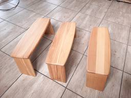 Скамейка для медитации складная, дерево ясень