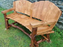 Скамейка из дерева