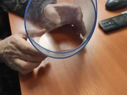 Скатерть Мягкое стекло на стол 600х1210х2. 0 мм