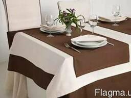 Скатерти текстиль , накидки для кафе и ресторанов под заказ