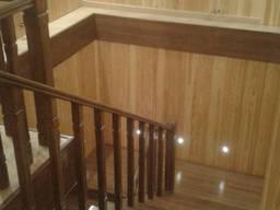 Сходи дерев'яні будь-якої складності. Бані, сауни під ключ.