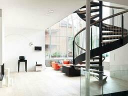 Ступени для лестниц из массива дерева в стиле LOFT