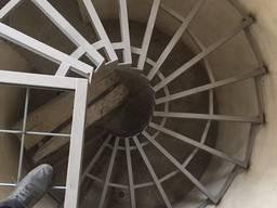 Сходи з металокаркасу, лестницы, сходові клітки, зварювальні