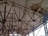 Склад, Ангар Б/У, Фермы 12м двухскатная , Металлоконструкции - фото 7