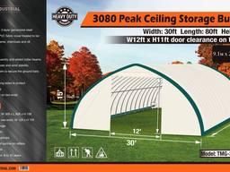 Склад, палатка, тунельный ангар TMG Industrial 9,1х25,9х 4,5