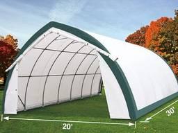 Склад, палатка, тунельный ангар TMG Industrial 6,1х9,1х 3,65