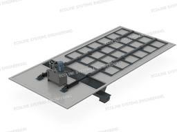Склад сырья «Гидравлическое живое дно» (Push Floor)