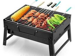 Складной мангал барбекю гриль BBQ Grill Portable. ..