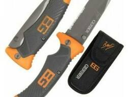 Складной нож Gerber Scout Bear Grylls с прищепкой (Длина 21 см. )