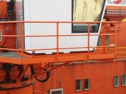 Складной судовой грузоподъемный кран бу