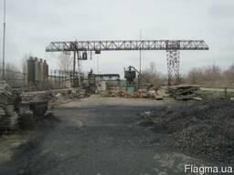 Складская база 5000 м. кв с железнодорожным тупиком Донецк