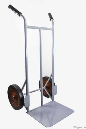 Складская тележка на литых колесах 300 мм ТС-02