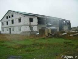 Складской комплекс 1199 метров с участком 1 гектар, Усатово