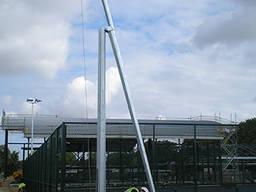 Складывающиеся гранёные опоры и мачты освещения 6-20 метров