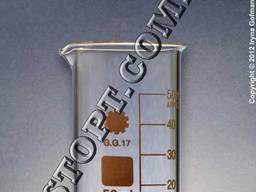 Склянки лабораторні високі з носиком і градуюванням ТС